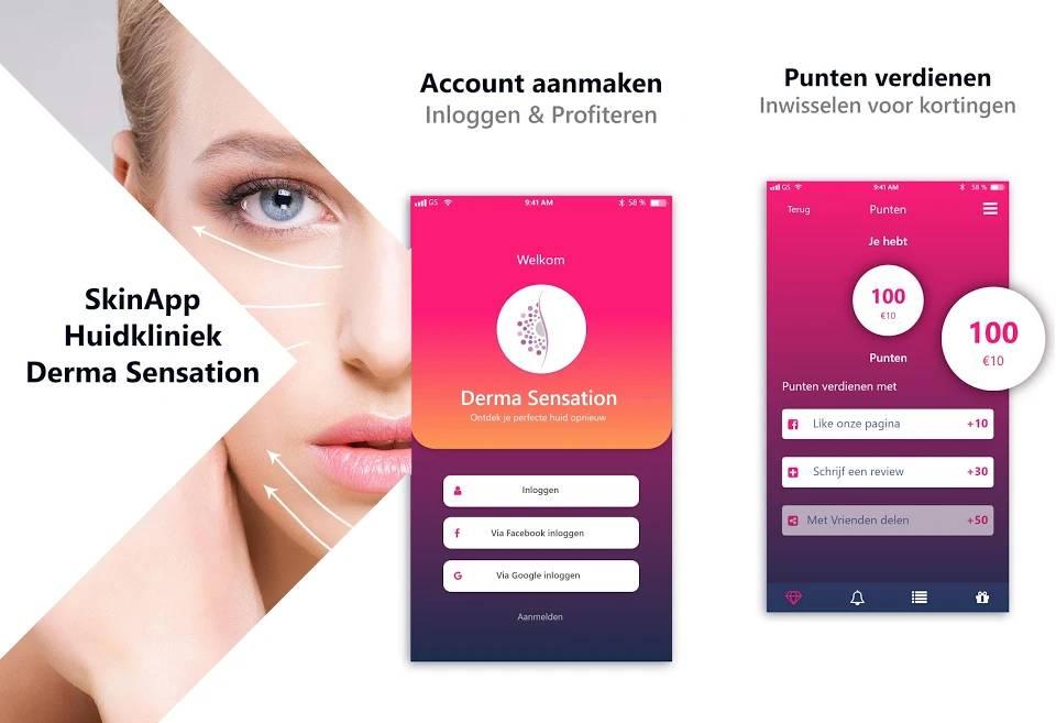 Derma Sensation App